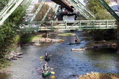 canoeing on the Wupper