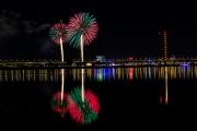 Display of Japanes fireworks