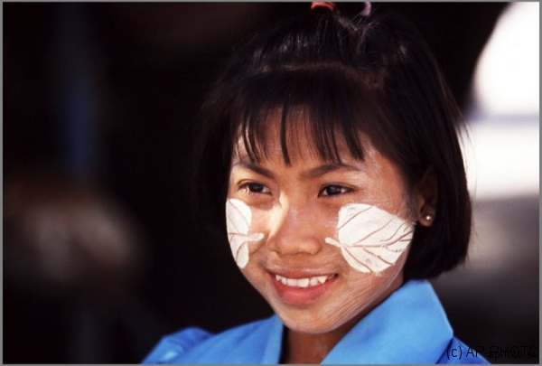 Girl, Myanmar