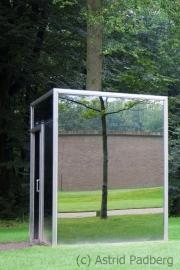 Dan Graham, Two adjacent pavilions, 1978/2001
