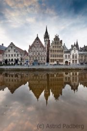 Ghent, Riverfront houses
