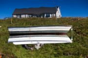 Scalpay, house-boat