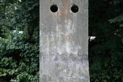 Concrete stela